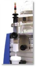 Dry loading vessel commonly used to improve purification of sample mixtures dissolved in polar solvents.